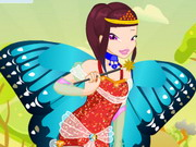 Flying Beauty Dress Up