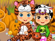 Baby Twins Halloween Costumes