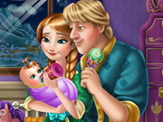 Anna and Kristoff Baby Feeding