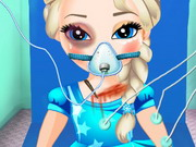 Baby Elsa In Ambulance