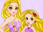Baby Rapunzel Mother's Day Surprise