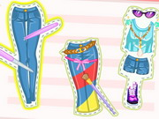 Barbie Diy Jeans Makeover