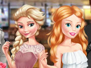 Elsa And Barbie Blind Date