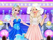 Elsa vs Barbie Fashion Show