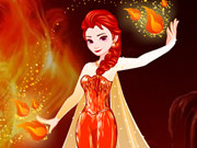 Frozen Elsa Fire Makeover