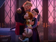 Frozen Family Portrait