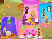 Princess Rapunzel Doll House