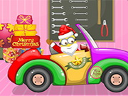 Santa Minion Christmas Car