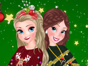 Sisters Ugly Xmas Sweater