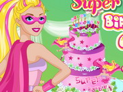 Super Barbie Birthday Cake